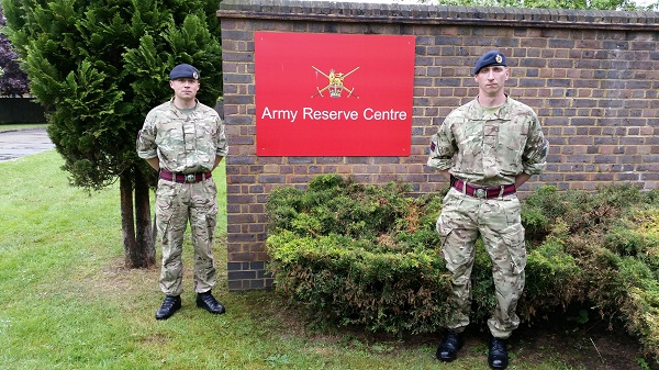 Rebranding For Southend Army Reserve Centre East Anglia