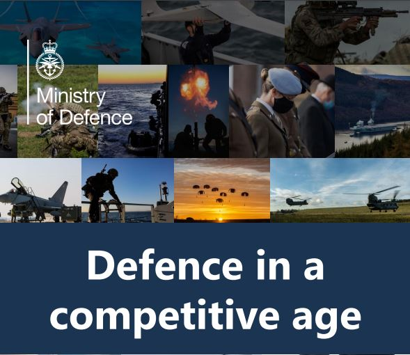 Front cover snapshot of the Defence Command Paper